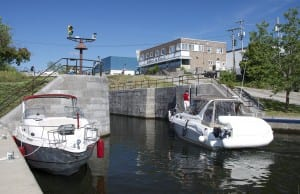 The Canal at Fenelon Falls