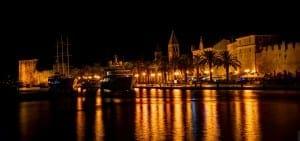 Night in Trogir
