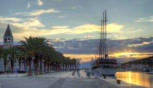 Sunrise in Trogir