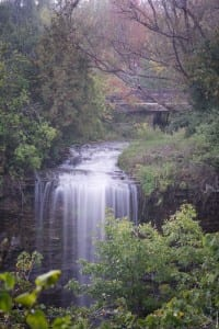 Misty Afternoon at Borer's Falls