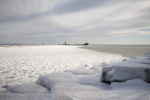 Ice Covered Port