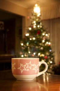 Warm Drink by the Tree