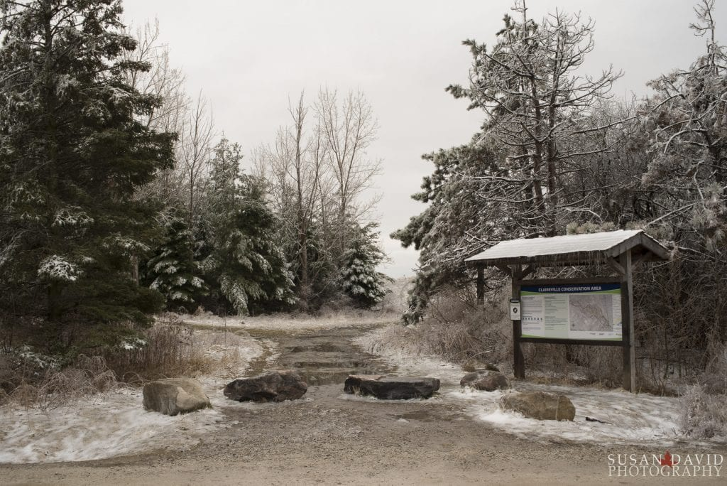 Claireville Entrance