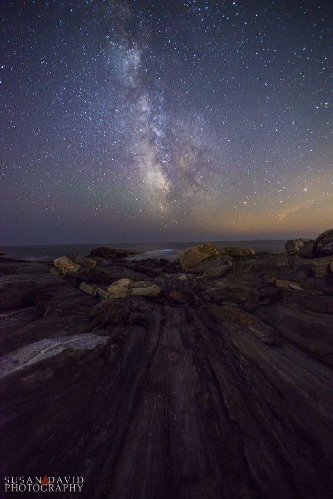 Milky Way over Pemaquid