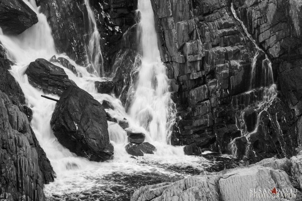 Grand Falls BW