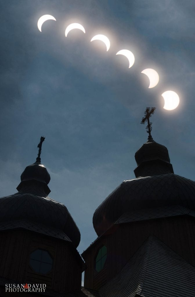 Solar Eclipse at St Elias