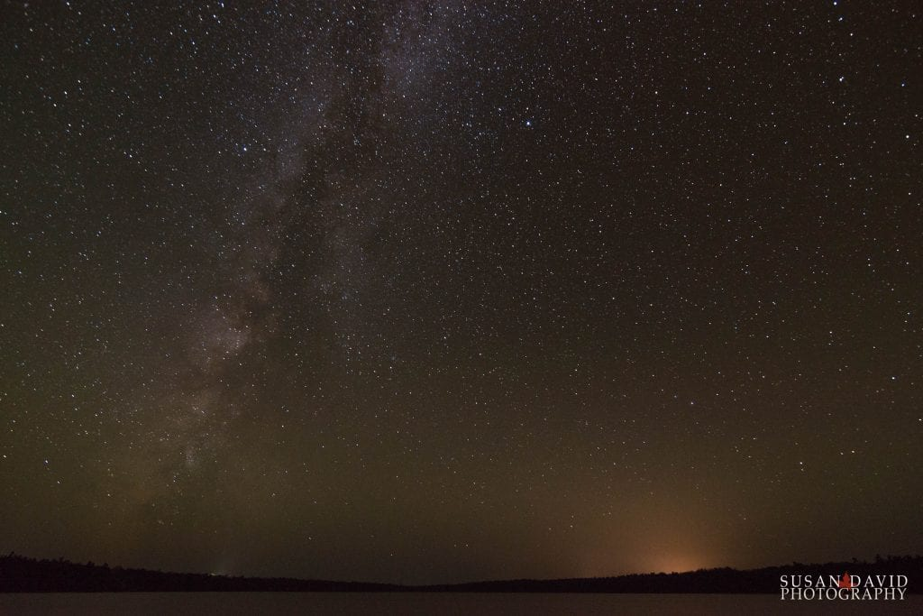 Milky Way over Cypress lake