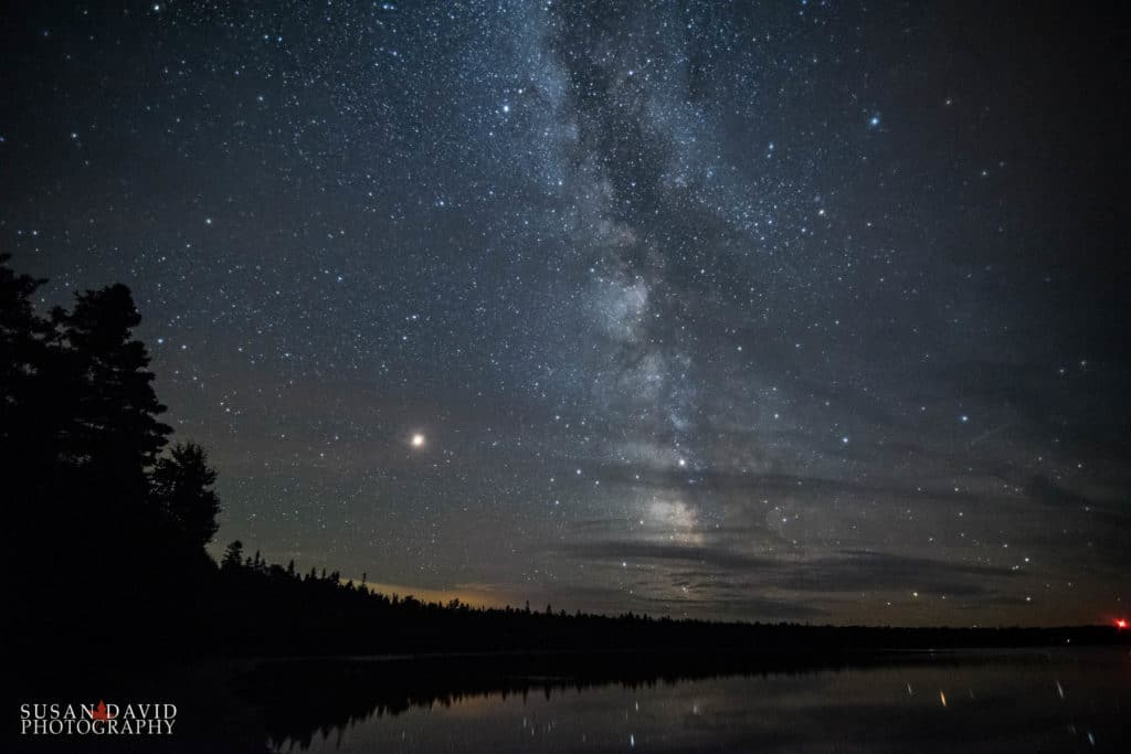 Night Sky at Cyprus Lake