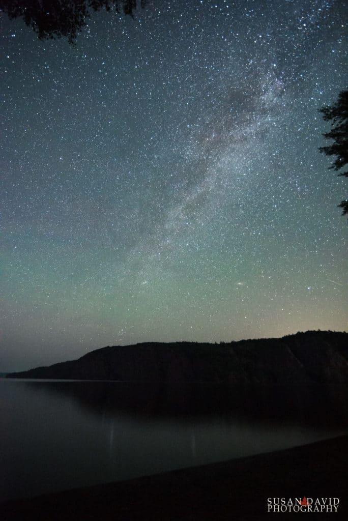 Milky Way above Mazinaw Rock