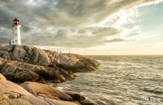 Sunset Photos at Peggys Cove