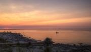 Swimming_in_Georgian_Bay_at_Sunset