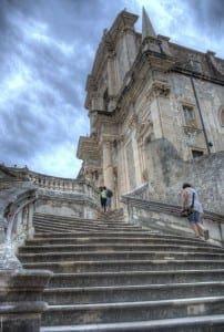 Dubrovnik Catherdral Steps