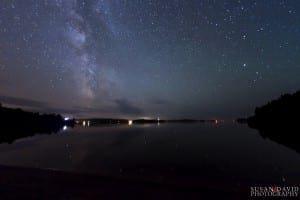 Night Sky on Georgian Bay