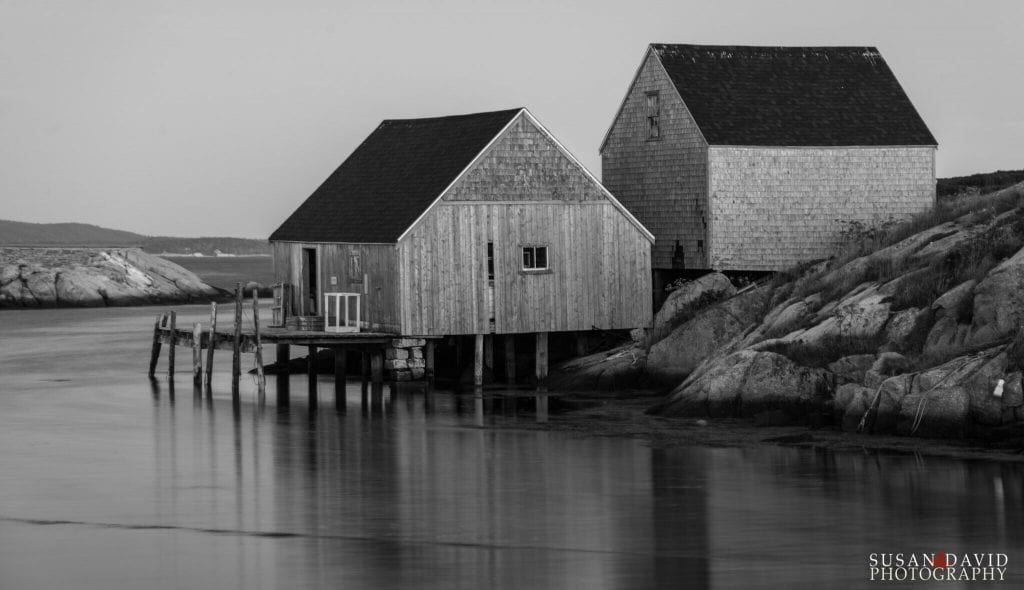 Early Morning at Peggy's Cove