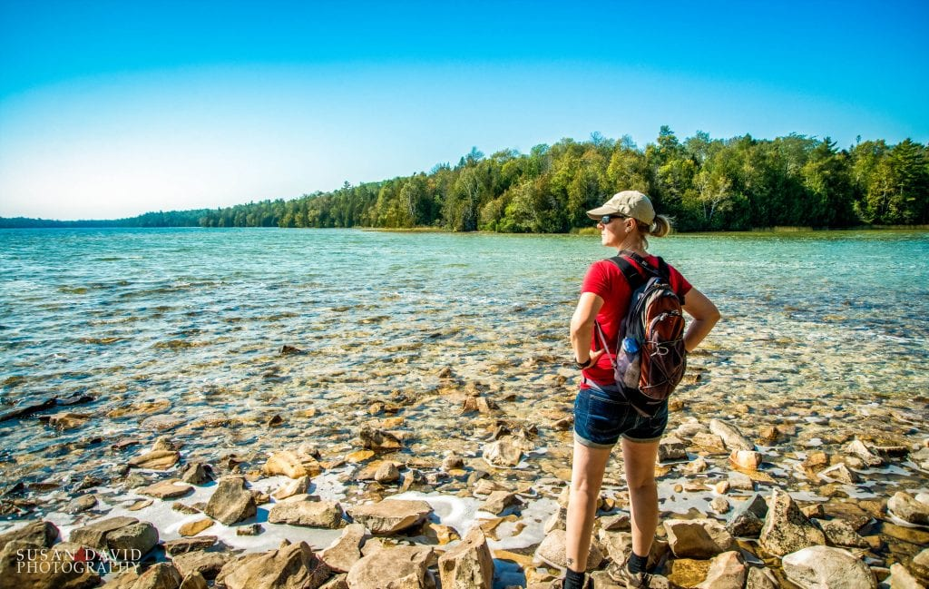 Cyprus Lake Hiker