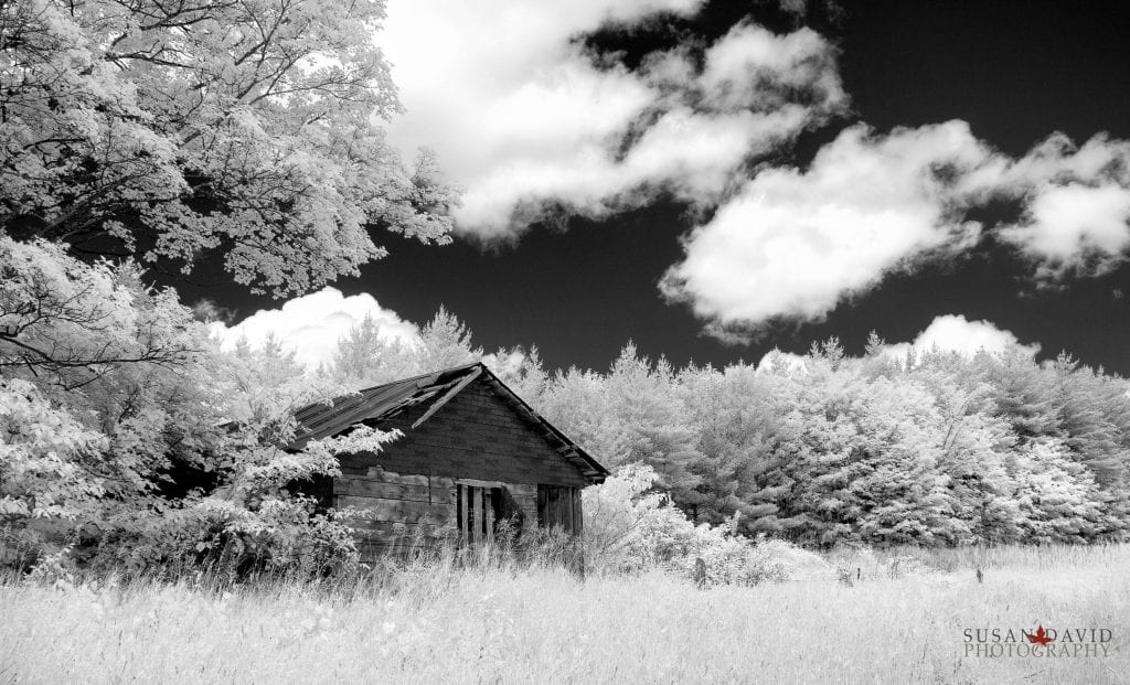 Shack in Infrared