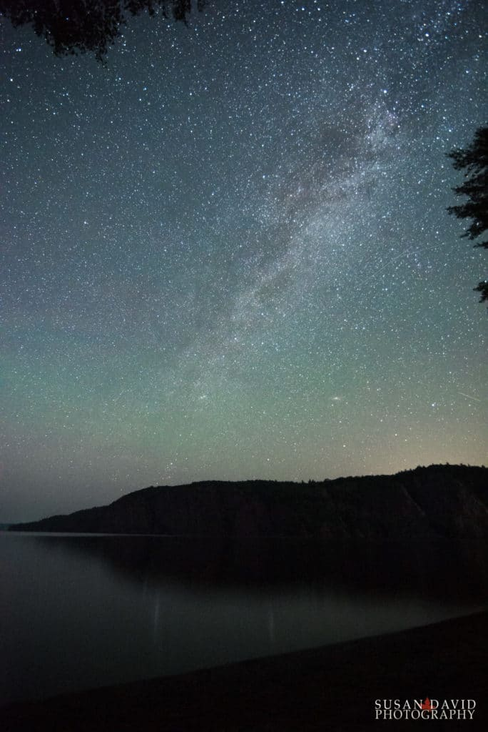 Milky Way above Mazinaw Rock