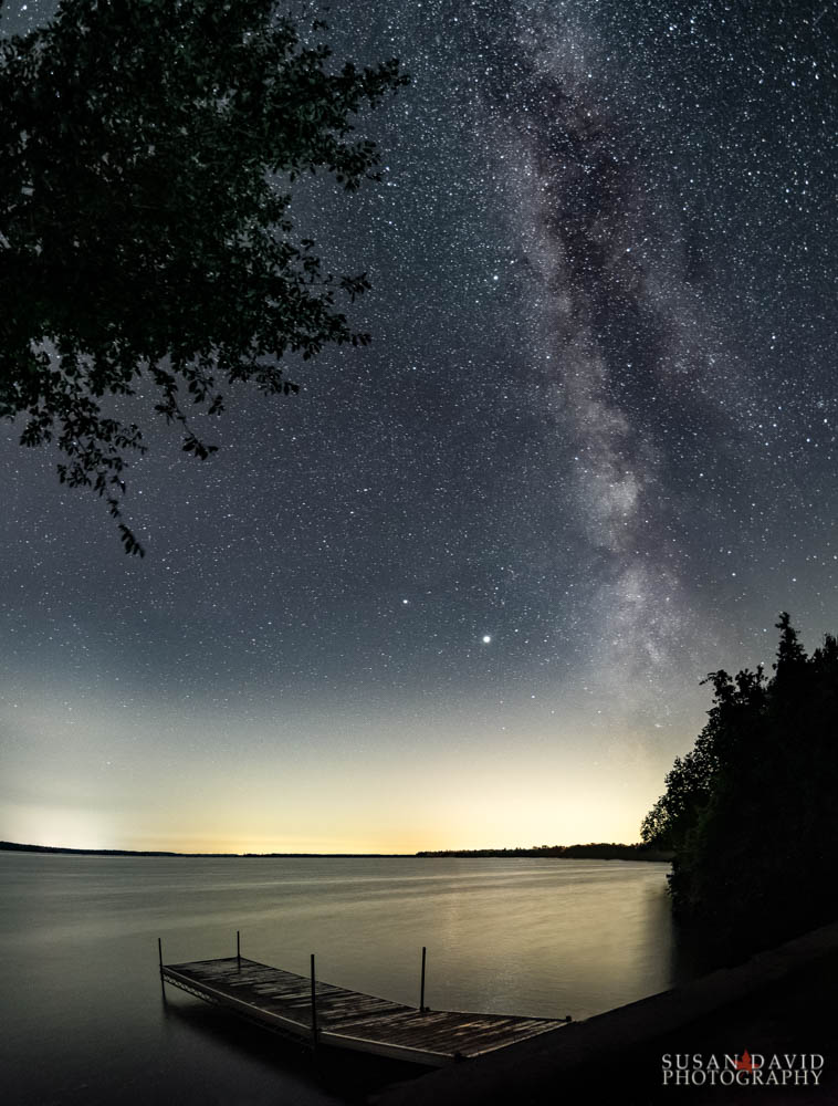 Milky Way Balsam Lake